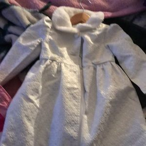 Pea coat and dress